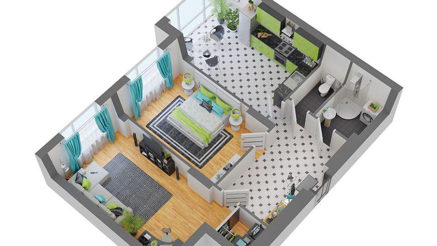 «Хит продаж» среди 2-к квартир - первый взнос 50% - всего 22 000 уе и она ваша!