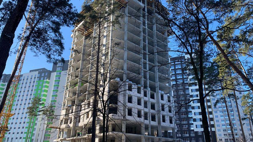 Фотозвіт з будмайданчика на початок лютого 2020 р.