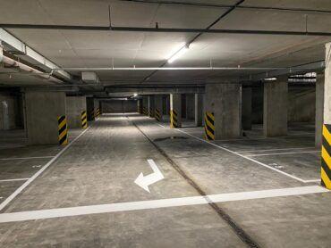 Відкрита перша черга підземного паркінгу